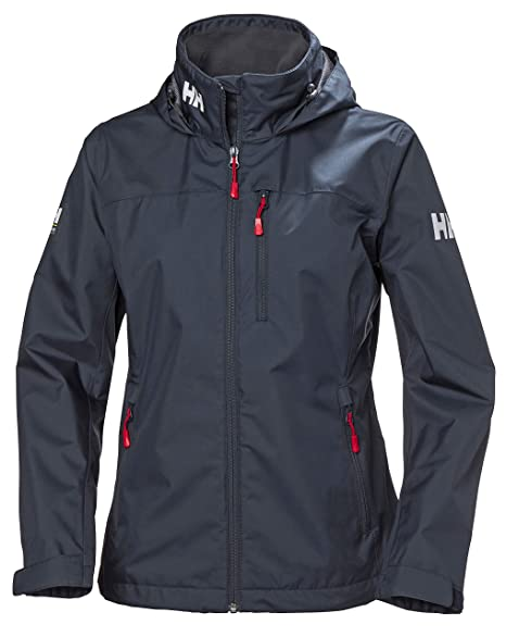 great deals 2017 hot-selling professional quality and quantity assured Helly Hansen Women Crew Hooded Midlayer Waterproof Jacket - Waterproof,  Windproof and Breathable Fabric, Full-Zip Jacket with Hood and Fleece Lined  ...