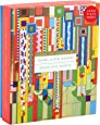 """Galison Frank Lloyd Wright Saguaro Forms and Cactus Flowers Gold Foil Puzzle, 1,000 Pieces, 20""""x27"""" – Fun, Relaxing and Challenging – Gold Foil Added to Image Brings New Flavor to Iconic Piece of Art"""