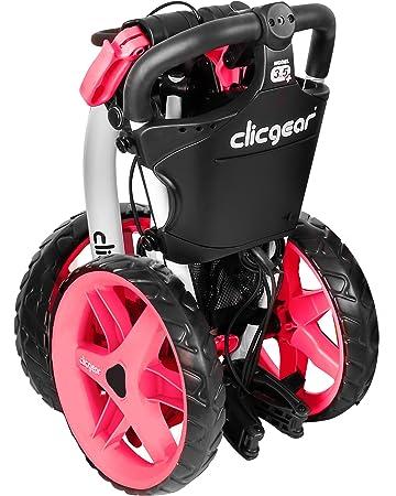 Clicgear 3.5 (2014) Carro de golf Arctic White Pink: Amazon.es: Deportes y aire libre