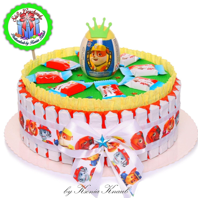 Incredible Pralinentorte By Ksenia Knaub Paw Patrol Birthday Present Candy Funny Birthday Cards Online Bapapcheapnameinfo