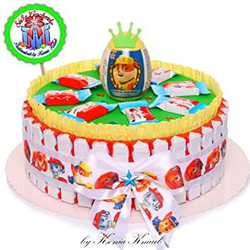 Awe Inspiring Pralinentorte By Ksenia Knaub Paw Patrol Birthday Present Candy Funny Birthday Cards Online Bapapcheapnameinfo
