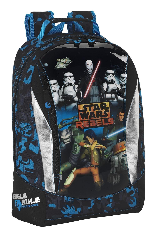 Set * Star Wars Clone Wars mochila escolar 44 x 32 x 14 cm Diseño: Amazon.es: Equipaje