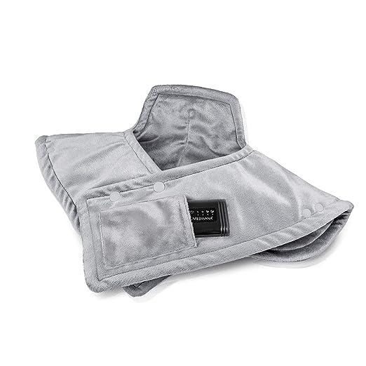 Medisana HP 626 Akku Heizkissen für Schulter und Nacken - Heizedcke mit 4 Temperaturstufen - mit Überhitzungsschutz und Absch