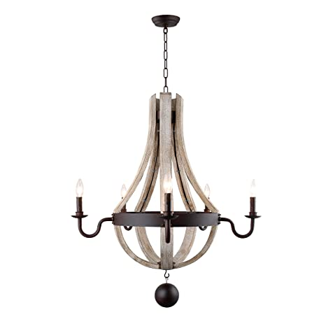 French country wood metal wine barrel chandelier pendant 5 lights rh french country wood metal wine barrel chandelier pendant 5 lights rh 30quot aloadofball Image collections