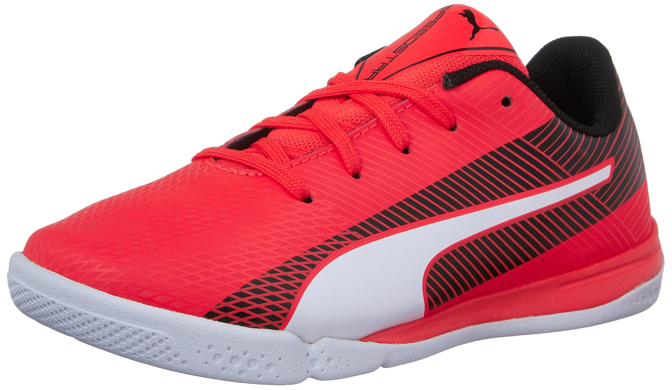 PUMA Evospeed Star S Jr Skate Shoe Red Blast-White-Black 13 M US Little Kid