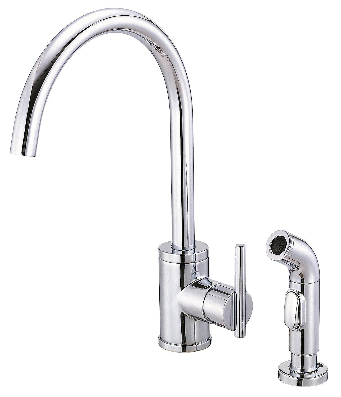 Danze D Parma Single Handle Kitchen Faucet with Side Spray