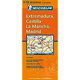 Carte RGIONAL Extramadura, Castilla La Mancha, Madrid