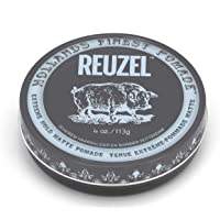Reuzel - Extreme Hold Matte Water Soluble Pomade For Men - No Shine - For All Styles - Long Lasting Firm Control…