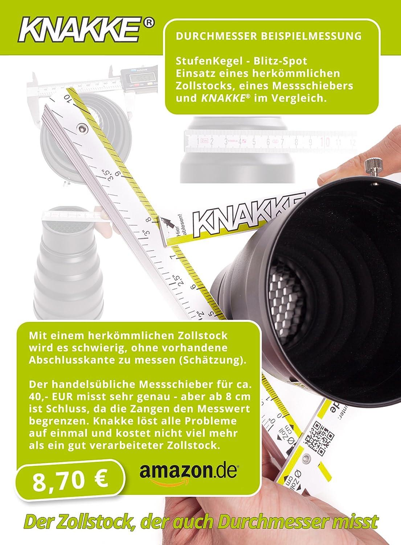 Metro KNAKKE con un patentado de di/ámetro metro plegable en alta calidad