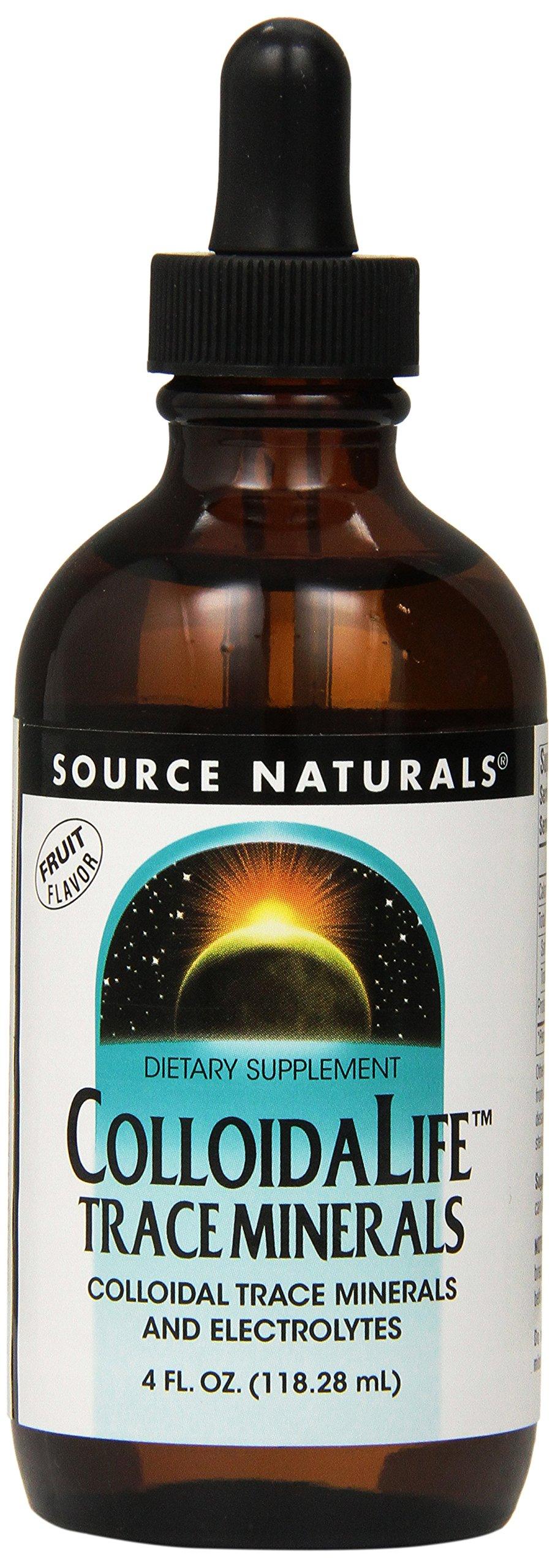 SOURCE NATURALS Colloidalife Trace Minerals Fruit, 4 Fluid Ounce