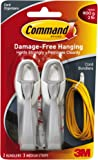 3M 17304 Command Cord Bundlers 4 Pack (8 Bundlers)