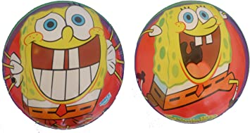 Caja 12 Pelotas 150 mm Bob Esponja Unice