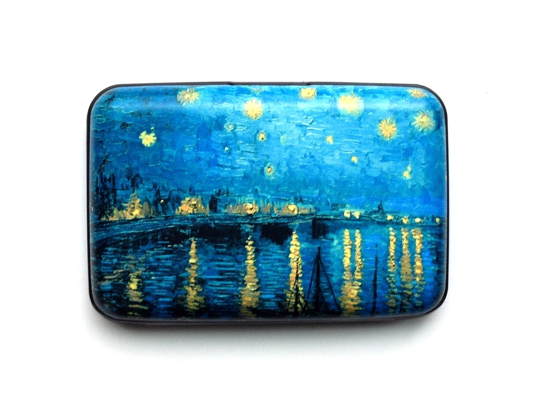 Credit Card Case (Armor Wallet)''Starry Night Over the Rhone River''
