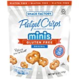 Snack Factory Pretzel Crisps, Gluten Free Original Minis, 5 Ounce
