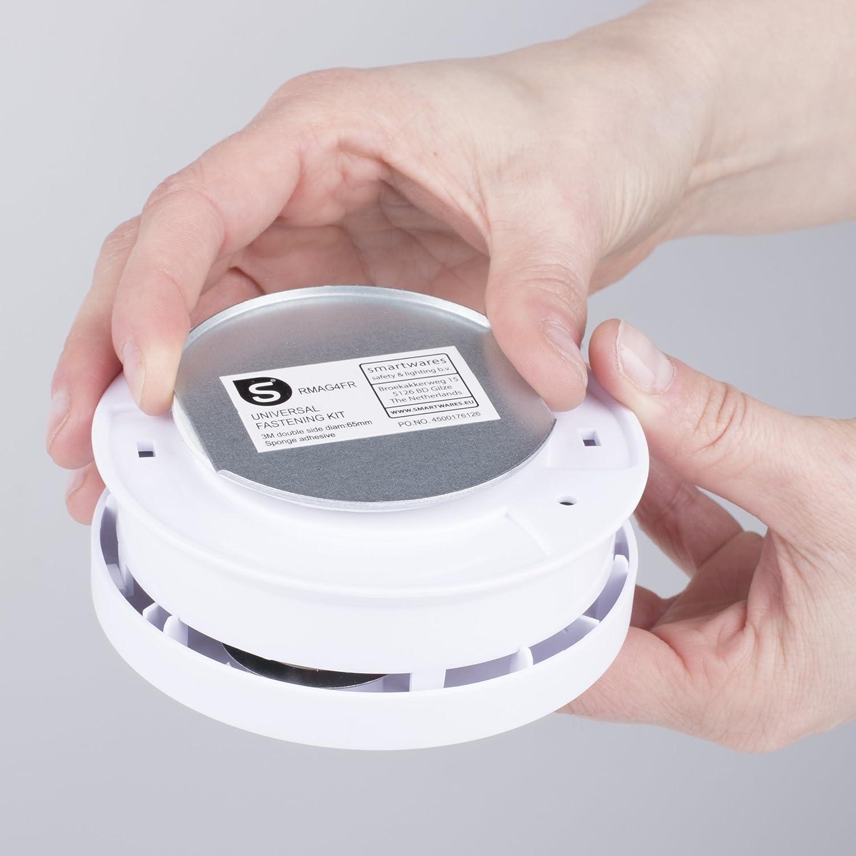 Smartwares 10.029.73 Kit de Montaje Universal, Plata, Set de ...