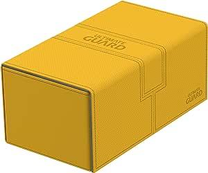 Ultimate Guard UGD010770 - Caja Doble para Cubiertas (200 Unidades, tamaño estándar), Color ámbar: Amazon.es: Juguetes y juegos