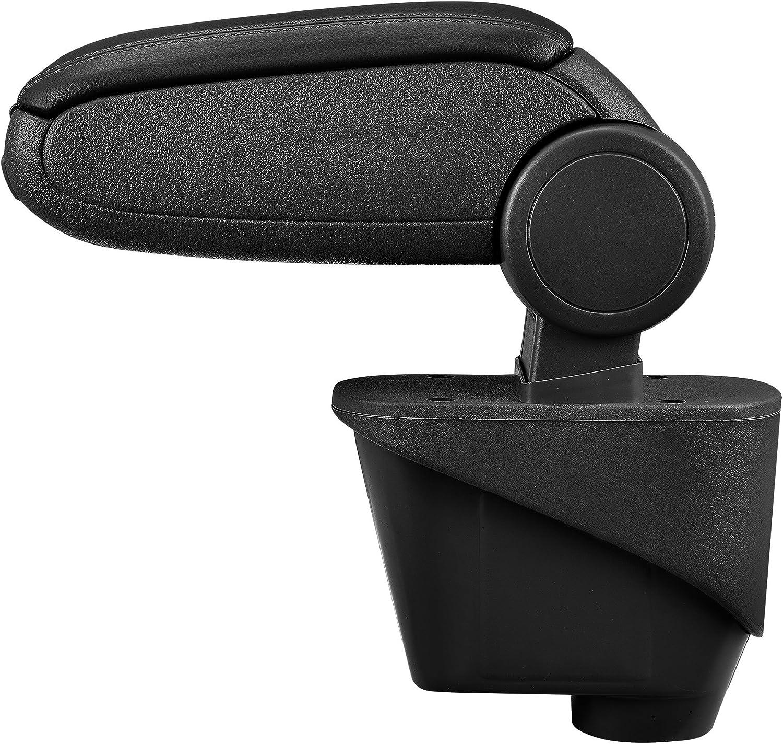 Centre Console Storage Box inkl textil cover // grey pro.tec Car Armrest Perfekt Fit
