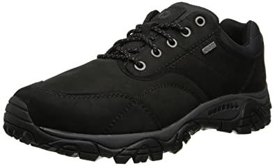 Merrell Men's Moab Rover Waterproof Shoe,Black,7 ...
