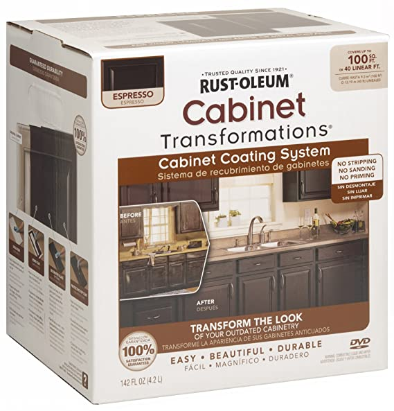 Brilliant Rust Oleum 263231 Cabinet Transformations Small Kit Download Free Architecture Designs Itiscsunscenecom