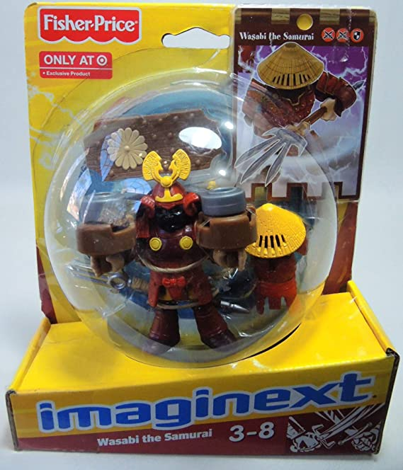 Fisher-price Imaginext - Wasabi the Samurai by Fisher-Price: Amazon.es: Juguetes y juegos