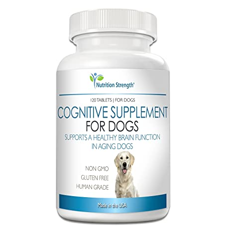 Amazon Com Nutrition Strength Cognitive Support For Dogs Promotes