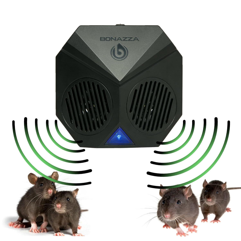 Amazoncom BONAZZA Mice Repellent Plugin Ultrasonic Pest Repeller