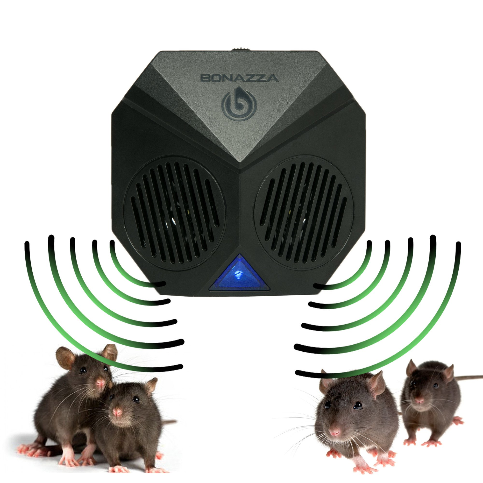 Bonazza Rodent Repellent Ultrasonic For Garages