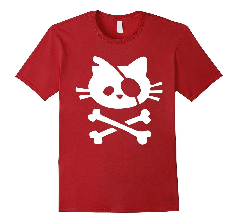 Cat Pirate Flag T-Shirt-Art