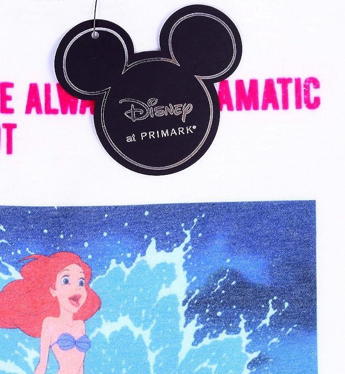 Camiseta Blanca, t-Shirt Ariel Disney: Amazon.es: Ropa y ...