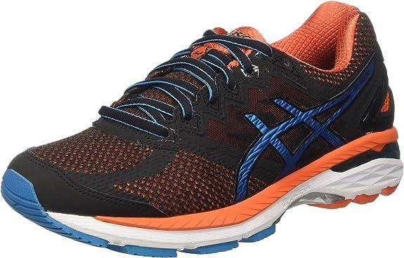 Asics Hombre Gt-2000 4 Entrenamiento y Correr Negro Size: 44 1/2: Amazon.es: Zapatos y complementos