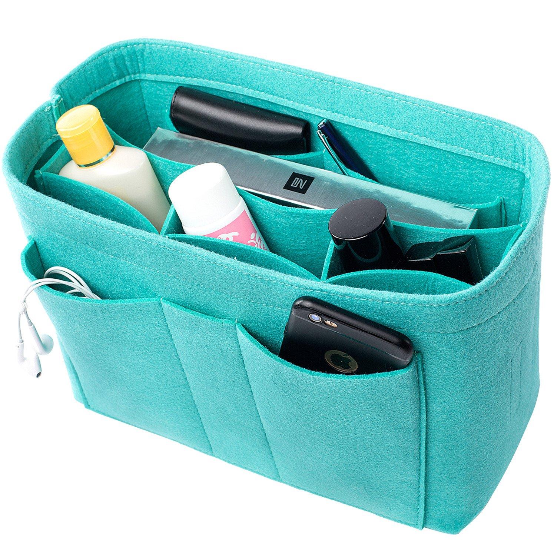 Felt(3MM) Fabric Purse Organizer Insert for Purse Handbag Tote Bag, 3 Sizes, 8 Colors