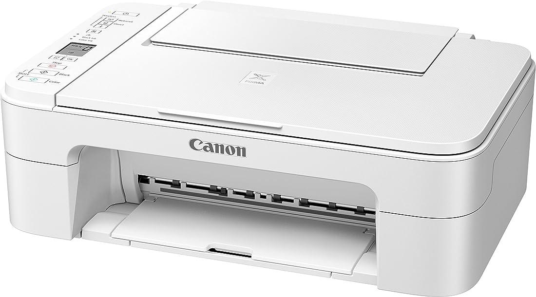 Stampante canon italia ts3151 pixma 3 in 1 a getto d`inchiostro, colore bianco 2226C026