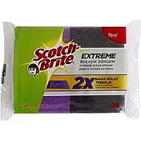 Scotch-Brite 1789297 Extreme Bulaşık Süngeri 2'li Paket, Normal