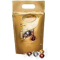 Lindt Lindor Schokoladenkugeln Auswahl, glutenfrei – ca. 80 Kugeln, 1 kg (inkl. Milch, Weiß, Dark und Haselnuss)