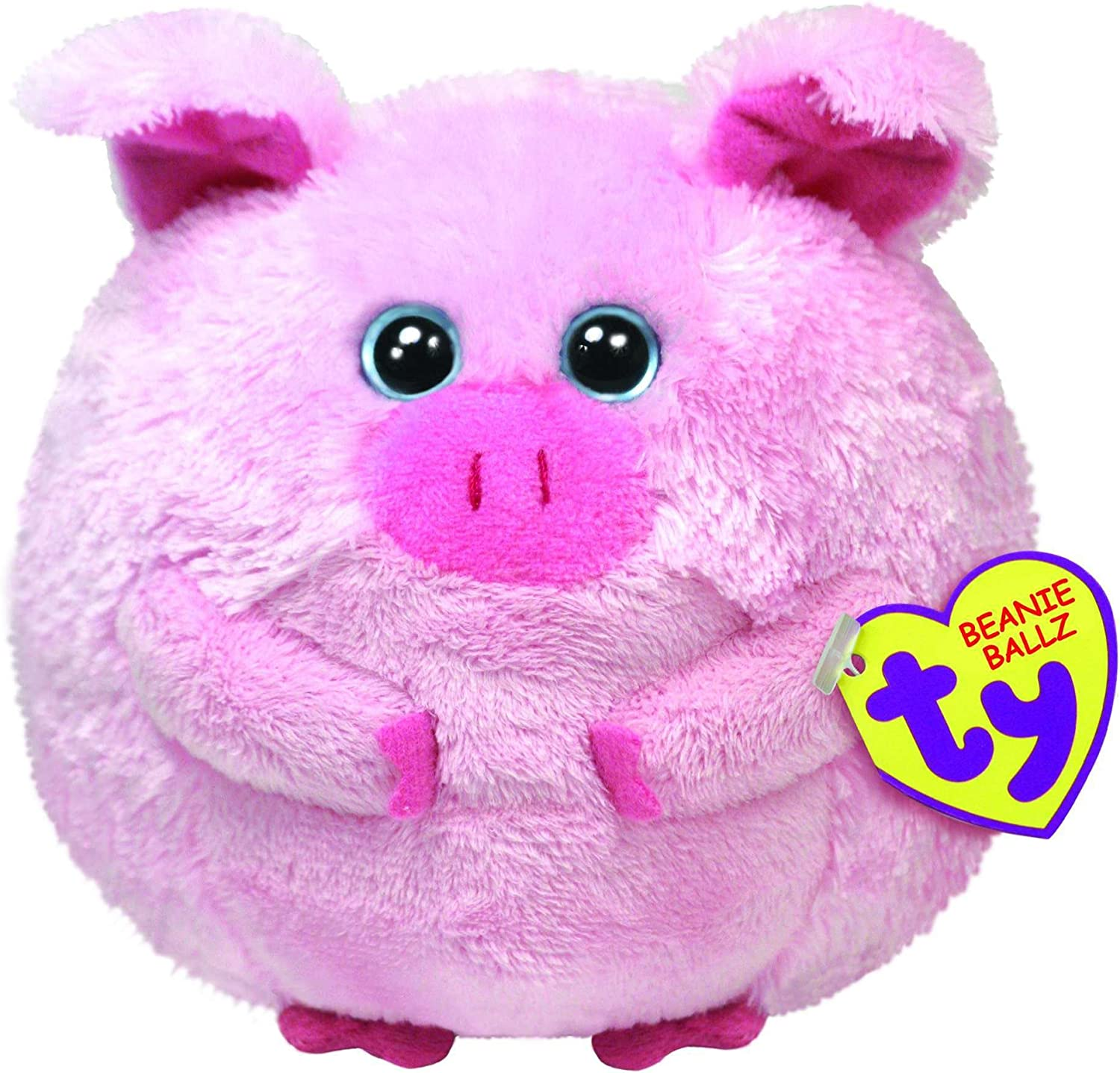 Licensed Beanie Ballz Large Size Stuffed Animal by TY