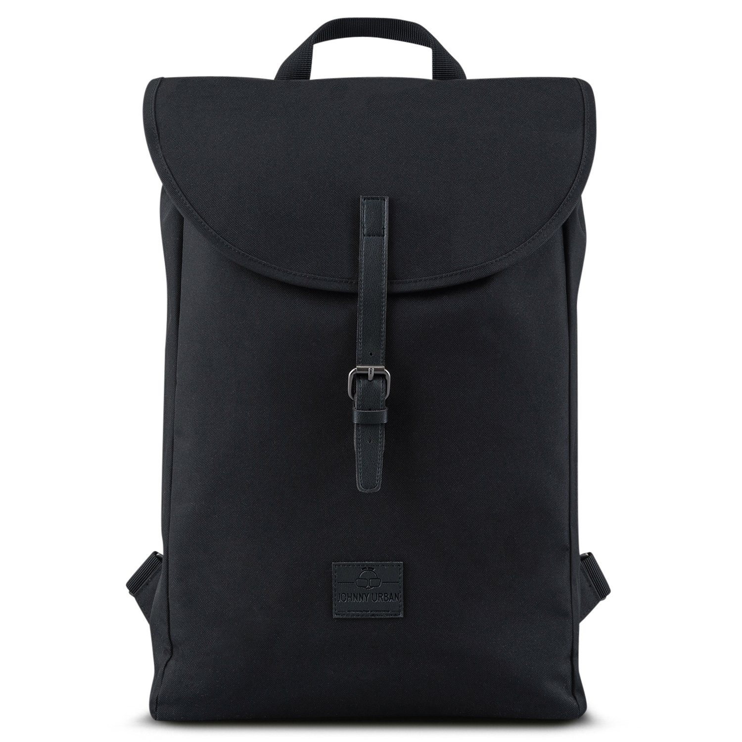 "good Backpack Men & Women Black - JOHNNY URBAN ""Liam"" from Recycled PET Bottles - Durable Daypack - 13 Litre Unisex Rucksack day-to-day Bag - Water-repellant with Laptop Pocket"