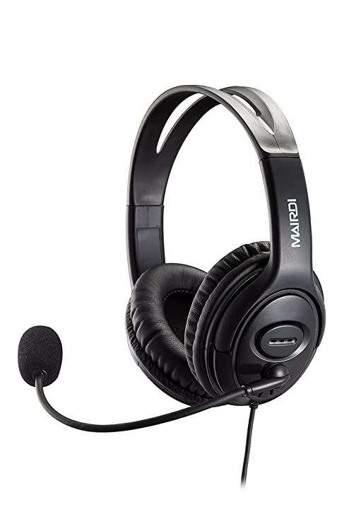 9fdf44eac88 USB Headset Headphone for Skype Call Center with Noise Cancelling  Microphone Voice Recognition for Drangon Voice