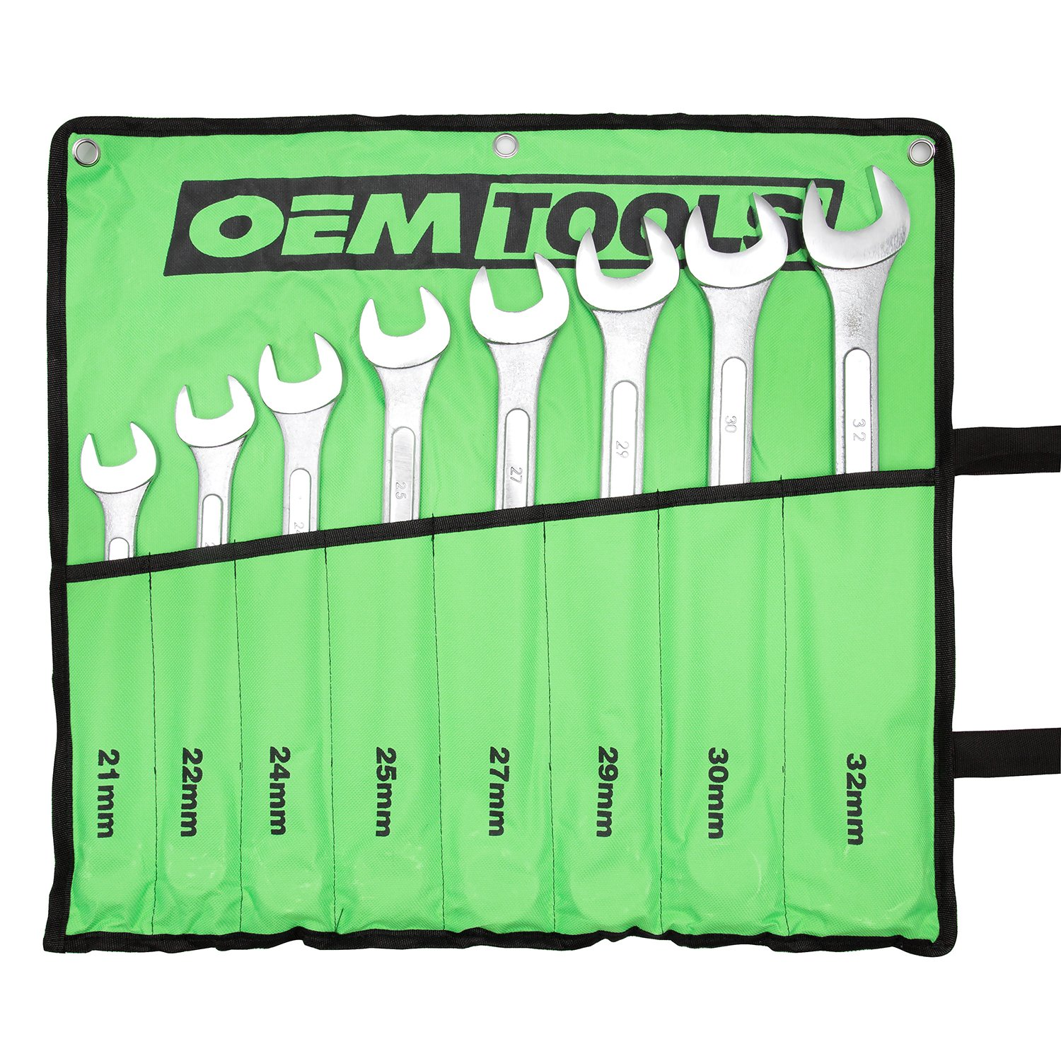 OEMTOOLS 22120 8 Piece Combination Wrench Set by OEMTOOLS