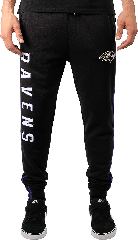Ultra Game Men's Active Basic Jogger Fleece Pants
