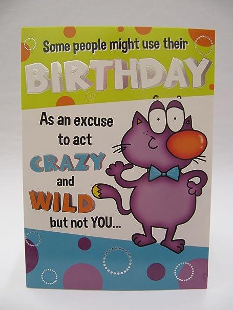 Fantástica tarjeta de felicitación divertida para acudir a ...