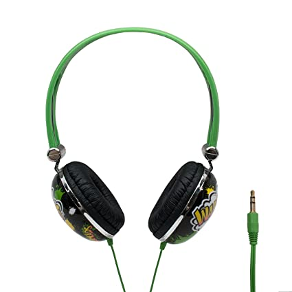 dae1861cd48 iHip WARHEADS Candy Stereo Noise Isolating Headphones for Apple Android  Compatible Gifts for Kids Teens Headphones