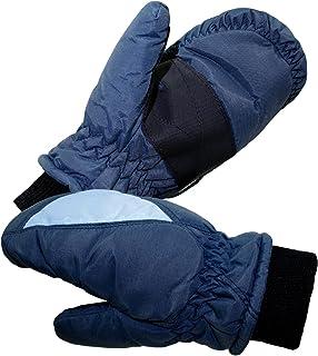 EveryHead Fiebig Jungenhandschuhe Handeschuhe Fausthandschuhe Thermohandschuhe Fäustlinge Fäustel Winter mit Fleecefutter für Kinder (FI-78735-W16-JU0) inkl Hutfibel