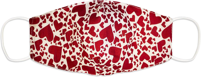 T/ête de mort love. SH M188 Masque de bouche et de nez en coton 2 couches avec 10 filtres 3 couches lavables /à 60 /°C