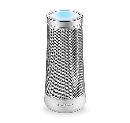 Harman Kardon Invoke Portable Speaker with Cortana (Silver)