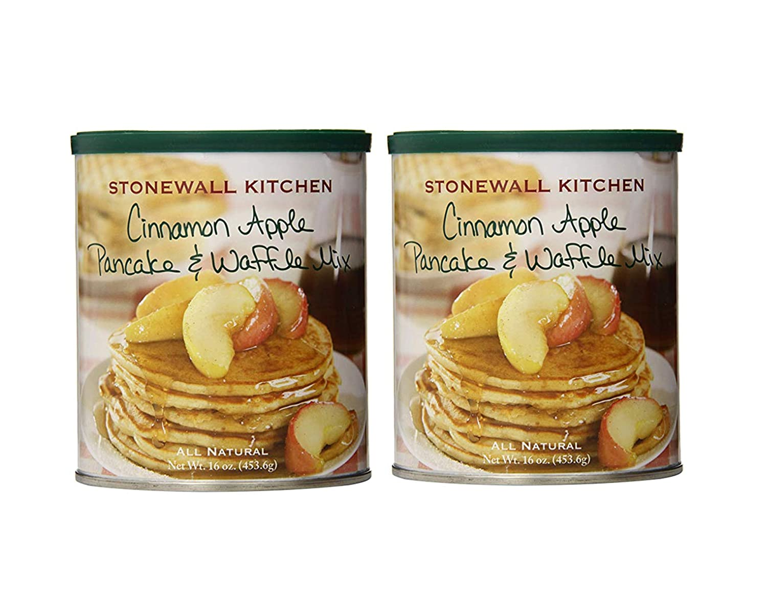 Stonewall Kitchen Cinnamon Apple Pancake Mix, Includes Two (2) 16 ounce cans