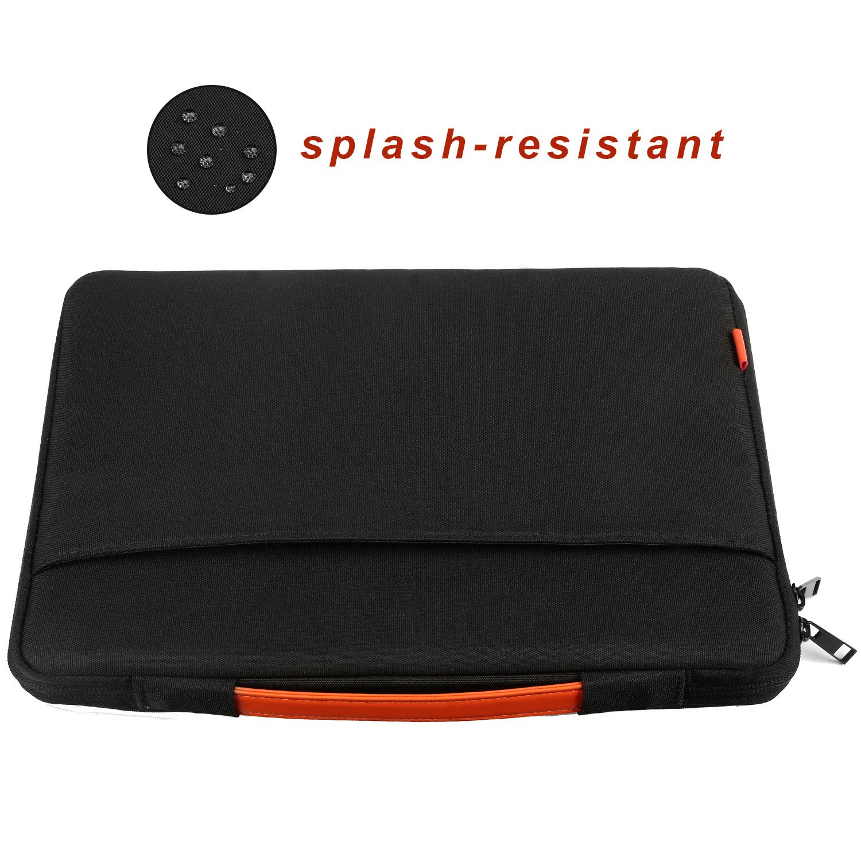 Funda para Portatil, Drmee Resistente al Agua Portátil Llevar Bolsa de la Caja Protectora para 13inch / 13.3inch Macbook Air / Pro / Retina - Negro