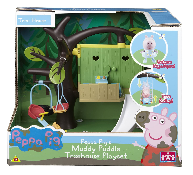 Character Options - La casa sull'albero di Peppa Pig, set da gioco 04818