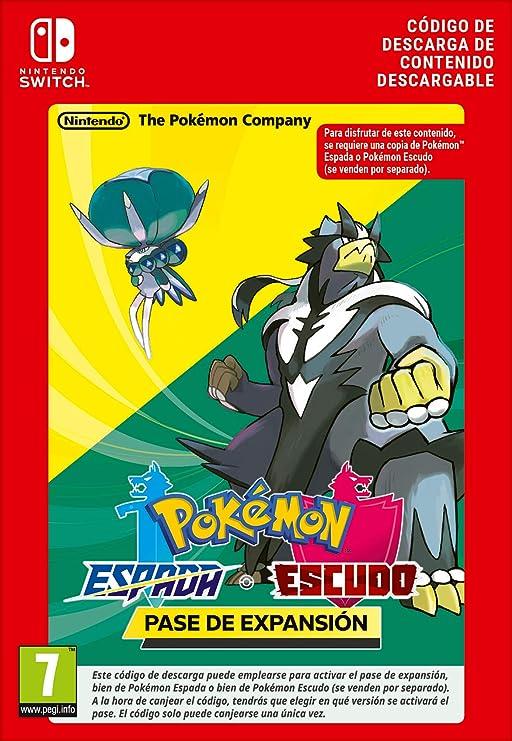 Pokémon Espada y Pokémon Escudo: Pase de expansión | Nintendo Switch - Código de descarga: Amazon.es: Videojuegos