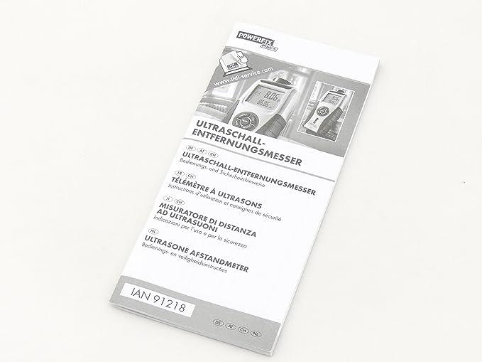 Ultraschall Entfernungsmesser Powerfix : Ultraschall entfernungsmesser lidl powerfix detector youtube