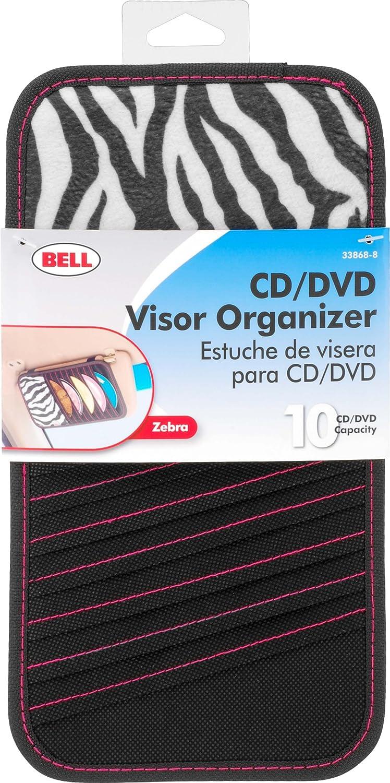 Bell Automotive 22-1-33868-8 Zebra CD Visor